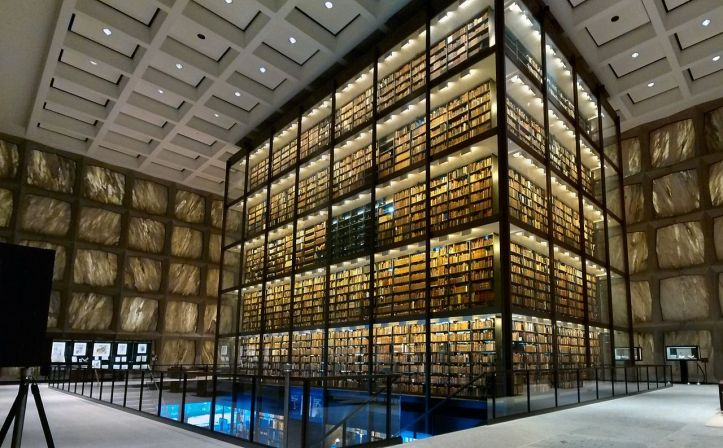 Beinecke-Rare-Book-Manuscript-Library-Interior-Yale-University-New-Haven-Connecticut-Apr-2014-b